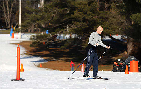 CROSS COUNTRY SKIING Winter has been a long time in coming, but thanks to modern snowmaking capabilities that's no problem at the Weston Ski Track. There are various activities on the agenda through the winter, including races, night skiing, clinics, and meet-up groups for skiers. Check out the full list of special ski events here . Weston Ski Track, Park Road, Weston. www.skiboston.com