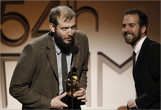 Justin Vernon, also known as Bon Iver, won best alternative music album.