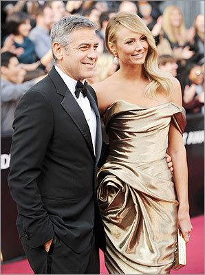 George Clooney and Stacy Kiebler