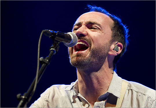James Mercer, lead singer of The Shins, also sang at Auditorium Shores on March 15.