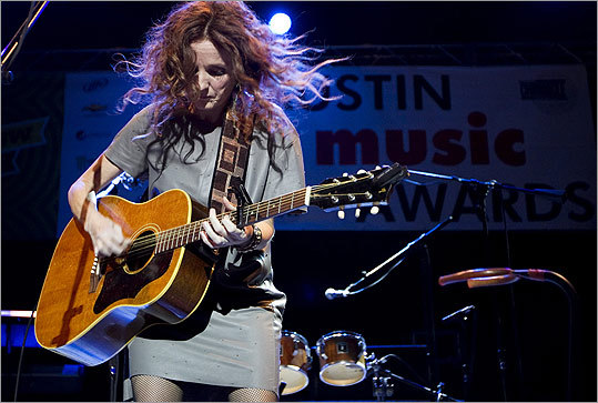 Maine native Patty Griffin also performed at the Austin Music Awards at the Austin Music Hall on March 14.