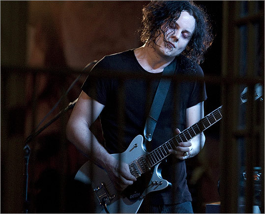Jack White, now solo after breaking from several bands including The White Stripes, gave a taste of his new tunes on March 16.