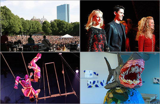 Looking for something fun to do with the kids? Let this be your guide. We've rounded up 10 of this season's hottest options in music, art, theater, and dance events for families.