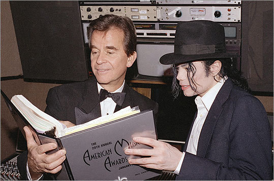 Clark went over the script for the American Music Awards with Michael Jackson in 1993.