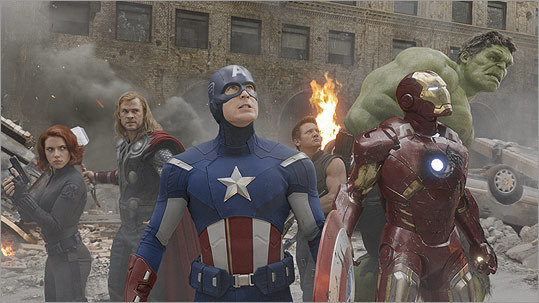 "Marvel and their various creative partners began laying the groundwork for ""Marvel's The Avengers"" (pictured) several years back -- not just in their development offices, but onscreen, in a series of teasers tacked onto the end of their films. Maybe you scoffed at fans who anxiously stuck around through the end credits -- but we salute them as savvy moviegoers who simply know how to get the most out of their multiplex buck. How much more did they get, exactly? Here are our reviews. — Tom Russo, Globe Correspondent"