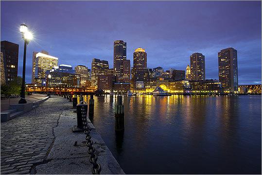 The Boston waterfront has arrived - The Boston Globe
