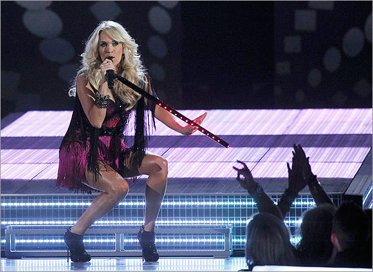 CARRIE UNDERWOOD The pop country superstar hits town in support of her new album 'Blown Away,' which debuted at number one on the Billboard album chart, no doubt thanks in part to its hot single 'Good Girl.' Sept. 19. DCU Center, Worcester. 800-745-3000. www.ticketmaster.com