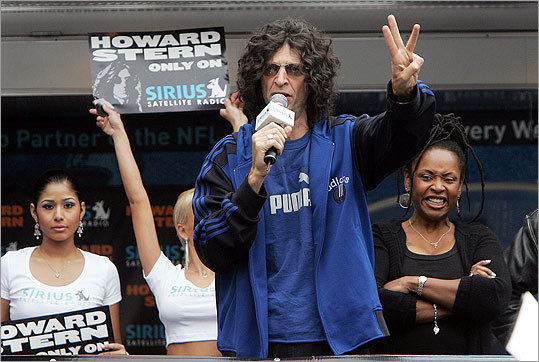 In 2004, Stern inked a five-year, $500 million deal to cross over to Sirius satellite radio, where the FCC couldn't fine him anymore. Stern signed a second five-year agreement in December 2010 .