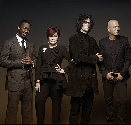 For season 7 of 'America's Got Talent ,' Stern joined fellow judges Nick Cannon, Sharon Osbourne, and Howie Mandel.
