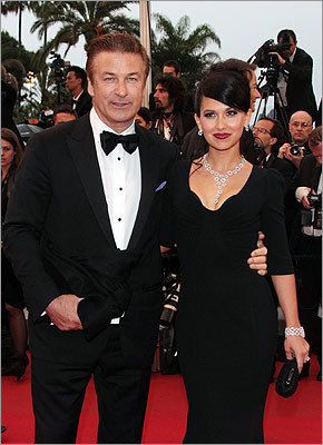 Alec Baldwin and Hilaria Thomas at the closing ceremony and 'Therese Desqueyroux' premiere.