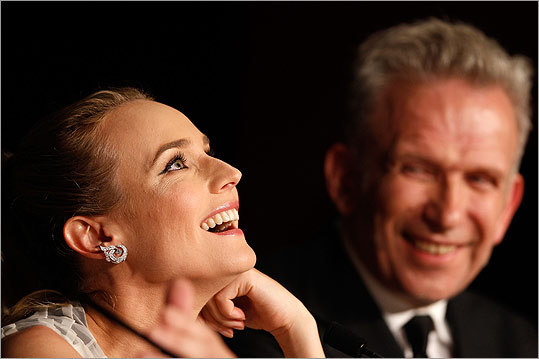 The 65th Cannes Film Festival wrapped up May 27. Check out scenes from the annual event in France. Jury members Diane Kruger and Jean-Paul Gautier shared a laugh at the Winners Press Conference on May 27.