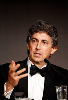 Jury member and director Alexander Payne spoke during the Winners Press Conference.