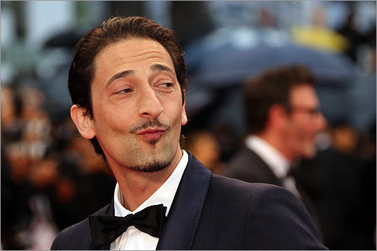 Adrien Brody looked dapper at the closing ceremony.