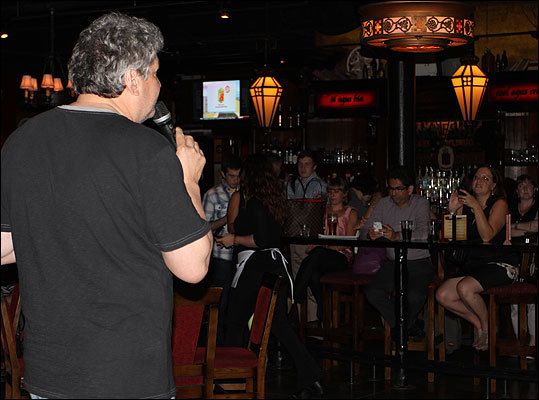 Henry Santoro addressed the crowd a couple times during the evening, providing a glimpse of what's to come when RadioBDC his the airwaves. Is your next question when? It's coming to a PC, Mac, iPad, iPhone and Android device near you really, really soon. We promise.