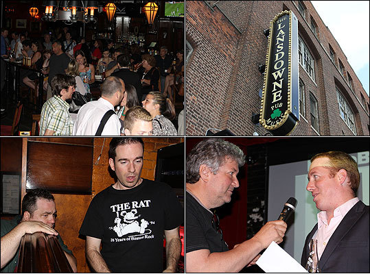 RadioBDC had its first Tweetup on Tuesday, July 24, at Lansdowne Pub in Boston. Fans of the soon-to-be streaming alternative radio station gathered for good times and the chance to win Coldplay tickets and a VIP experience. While RadioBDC personalities spun some tunes, people also voted by text in the poll for RadioBDC's first song (still going on, people). Meet some faces and read some thoughts from the RadioBDC Lansdowne Pub Tweetup.