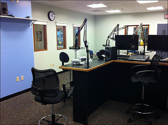 And here we are, 18 days since breaking sheetrock. Stay tuned and we'll keep you updated on studio progress, a launch date, events and more goodies at RadioBDC.