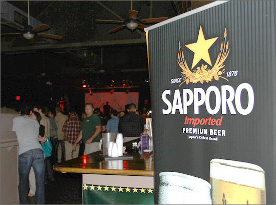 Sapporo, the oldest beer brand in Japan dating back to 1876, sponsored the RadioBDC +1 affair.