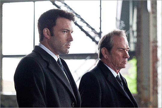 Ben Affleck and Tommy Lee Jones filmed at locations around Boston for the 2010 movie 'The Company Men.'