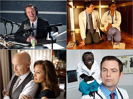 With most of the fall television premieres out of the way, we can now judge the new crop of shows. Already, two series, 'Made in Jersey' and 'Animal Practice,' have fallen victim to the ax. Which shows are soon to follow? You decide. Read what our critics Matthew Gilbert and Sarah Rodman think of each new TV show, and then vote to tell us whether each series should keep going or be killed off.