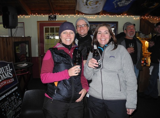 The blizzard of 2013 didn't keep the Drafters and partiers from drinking up.