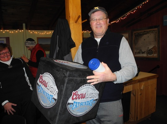 There's nothing like a free cooler to keep your Coors cold.