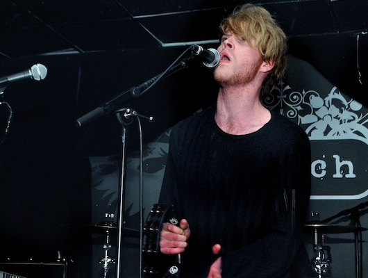 Lead singer Steve Garrigan said it was the band's first time in Boston.