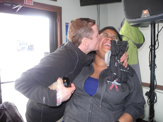 RadioBDC's Benielle Sims has a fan.