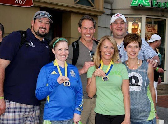 This year, RadioBDC, Michelob Ultra and the Joe Andruzzi Foundation are teaming up to host one of the city's best marathon watching parties, at FORUM on Boylston Street. In 2012, the Foundation also hosted the Run to FORUM.