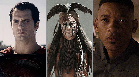 Johnny Depp, Henry Cavill, Will Smith