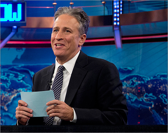 'The Daily Show,' host Jon Stewart is on a hiatus from the program in order to direct and produce the film ' Rosewater .' The film's production will keep him off Comedy Central until Sept. 3 while correspondent John Oliver mans the desk in his absence . With the first Stewart-less summer in over a decade ahead of us, take a look at some of his funniest, most poignant moments on and off 'The Daily Show' since taking over from Craig Kilborn in 1999. And tell us your favorite moments !