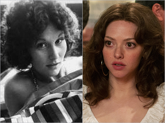 Subject : Linda Lovelace (left) Actress and film : Amanda Seyfried in 'Lovelace' (2013) Does Seyfried look like Lovelace?