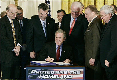 Bush&#146;s contention that he can ignore provisions of the Patriot Act, whose renewal he ushered last month, has drawn scrutiny.