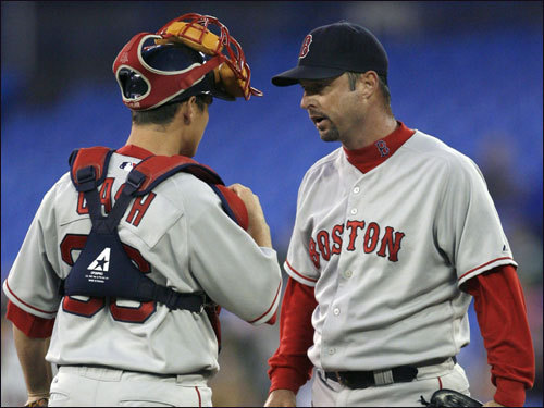 Tim Wakefield has been a feel-good story for most of this season, but lately he's made fans queasy with his ups and downs. After going 4-1 with a 2.45 ERA in August, Wake is 0-1 with a 12.08 ERA in three September starts. The biggest question is, which Wake will show up in October?
