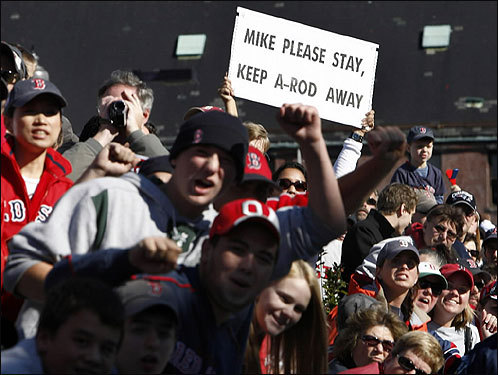 Fans sent a message to Theo Epstein and the front office on who they want to see at third base next season.