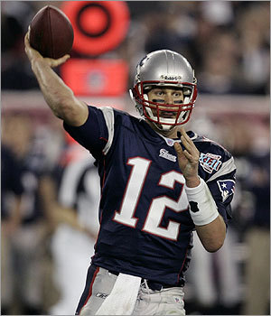 Tom Brady set the career Super Bowl record for completions going 29-for-48 in the Patriots 17-14 loss to the Giants. Brady passed San Francisco legend Joe Montana for first all-time and now has 97completed passes in four Super Bowls.
