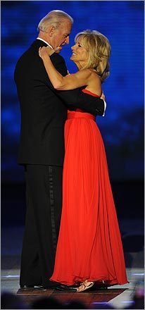 Vice President Joseph Biden and his wife, Jill, danced at the Neighborhood Inaugural Ball.