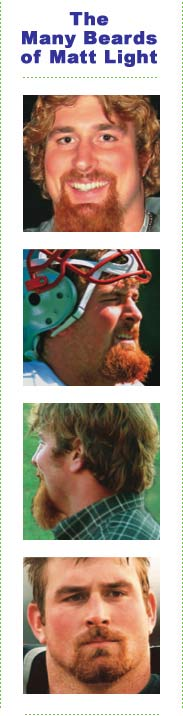 The Many Beards of Matt Light