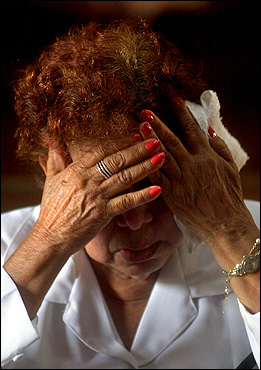 Maria Gonzales, 75, wept upon learning of the death of Pope John Paul II at the Metropolitan Cathedral of Managua, Nicaragua, Saturday.