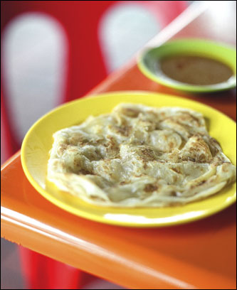 Roti Prata, Little India, Singapore