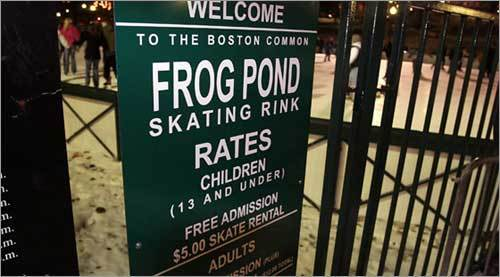 Open every day at 10 a.m., and closing well into the night, getting some time on the rink should fit into nearly everybody's schedule. Admission is $4 per person and free for those 13 and under.