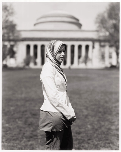 Most of the time when I met people for my project photographing and interviewing Muslims, we spent at least two hours together. With Mariam Kandil, it was about a half-hour. I'm not sure why, but for her, there just wasn't much to say about being a Muslim in New England. She likes her community. She likes her school, MIT. She likes her major, cognitive studies. She likes her religion. It is simple for her, just a happy person living life. ''I just want people to know that Muslims and Muslim Americans are normal people like you and me. Especially women, a lot of the stuff you see in the media – oh, those oppressed Muslim women – that's not true. There are so many of us here at MIT, Harvard, and BU, all over the place. A lot of us are studying science and math and history, everything you can think of, so we're just normal people.''
