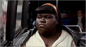 Gabourey Sidibe in 'Precous: Based on the Novel 'Push' by Sapphire'