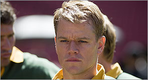 Matt Damon in 'Invictus'
