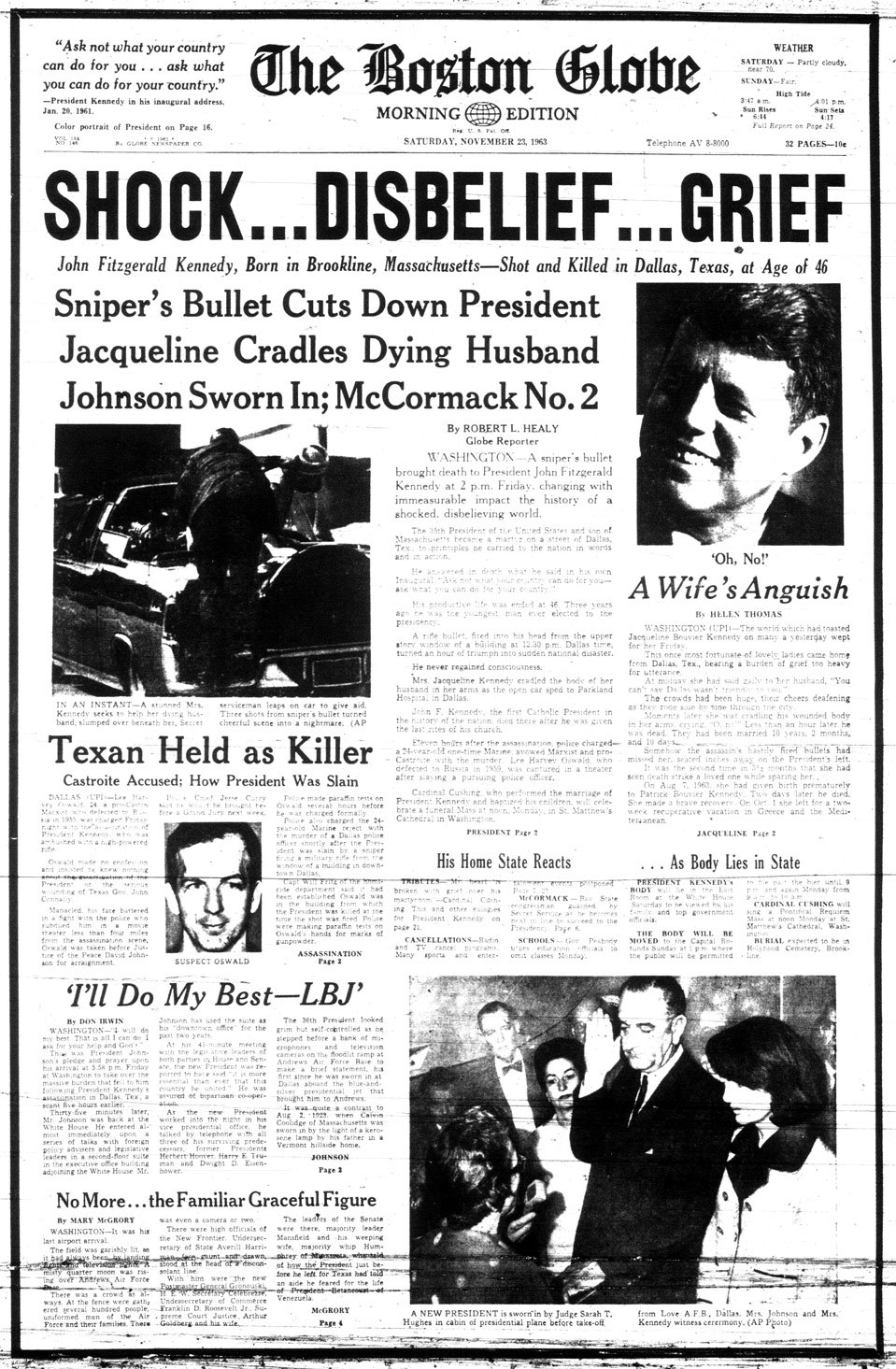 an introduction to the history of american tragedy the kennedy assassination Us president john f kennedy was assassinated 48 years ago see how the story  unfolded in the guardian.