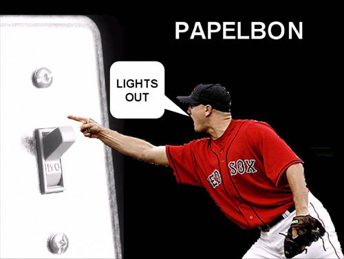 Katie of Boston couldn't wait for Jonathan Papelbon to turn in another lights-out performance in Colorado.