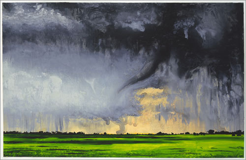 Grey Twister, Green Field