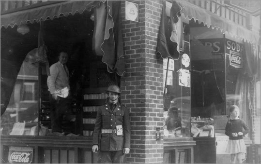 New Englanders marked the anniversary of a huge hurricane that killed more than 600 across the region on Sept. 21, 1938. Click through the gallery to take a look at the damage in Boston and beyond. A drug store in the Wollaston neighborhood of Quincy lost two big glass windows in the storm. A member of the National Guard stood guard in front of the damage. Material from the Associated Press was used in this report.