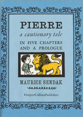 'Pierre: a cautionary tale: in five chapters and a prologue' By Maurice Sendak Conservative theme: A boy disrespects and disobeys his parents, and as a result he gets eaten by a lion. Liberal theme: A boy is rescued from a lion's stomach, and in testimony to the power of getting along, his family eschews revenge and welcomes the lion into their home.