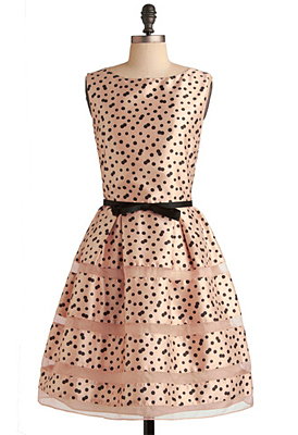 Rose bubble dress from Modcloth
