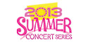 2013 summer concerts